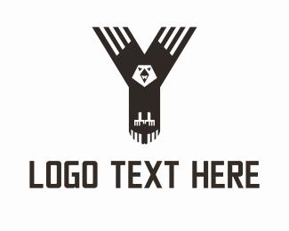 America - Y Eagle logo design