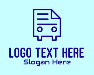 Computer Programming - Document Mobile App  logo design