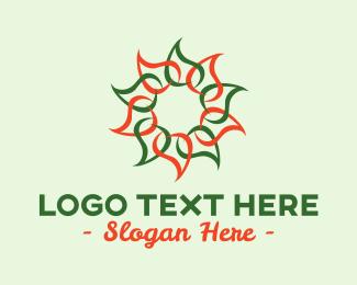Sunlight - Sun Petal Spa logo design