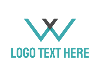 Services - Blue Letter WV logo design