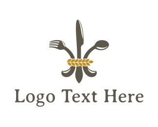Fine Dining - Regal Food logo design