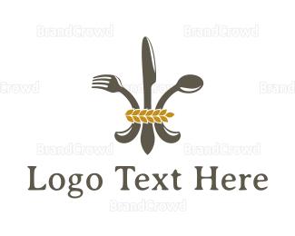 Food Blog - Regal Food logo design