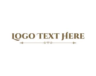 """""""Elegant Vintage Wordmark"""" by BrandCrowd"""