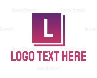 Flooring - Elegant Square logo design