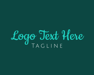 Word - Modern Handwritten Font logo design