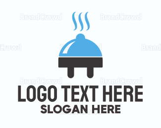Plug - Food Plug logo design