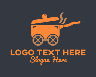 Food Truck - Food Truck Restaurant logo design