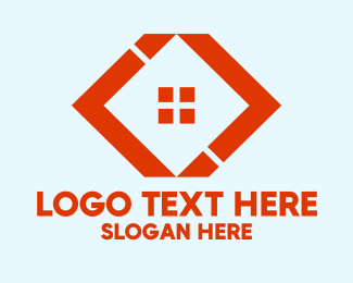 Property Development - Orange House Builders  logo design