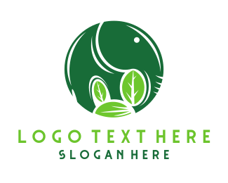 Asia - Green Elephant logo design
