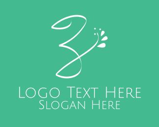 Letter Z - Floral Letter Z logo design