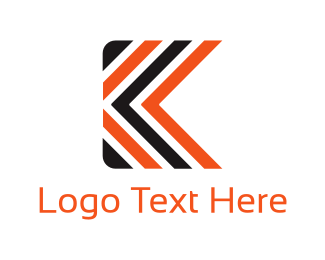 Symbol - Abstract Letter K logo design
