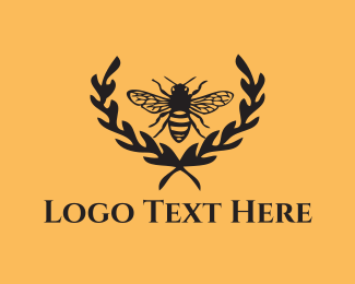 Bumblebee - Black Wasp logo design