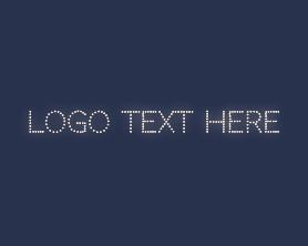 Light - Lighted Sign Wordmark logo design