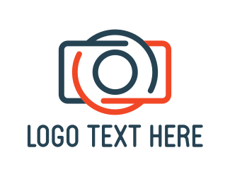 Electronics Boutique - Abstract Photography Camera logo design