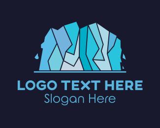 Icing - Ice Glacier logo design