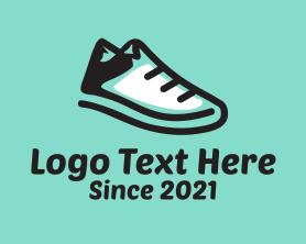 Hiking - Hiking Sporty Sneakers logo design