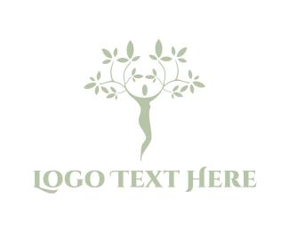 Wellness - Human Nature logo design