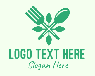Veggie - Salad Vegan Greens Food logo design