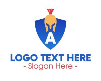Spartan - Spartan Shield logo design