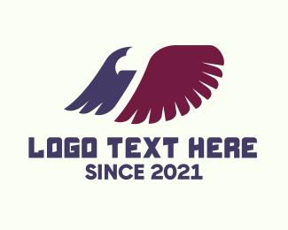 Biodiversity - Eagle Wings logo design