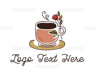 Chocolate - Herbal Coffee logo design