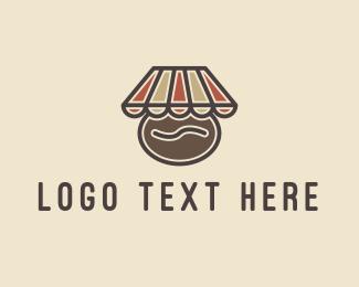 Mart - Coffee Bean Shop Cafe logo design