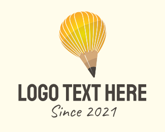 Publisher - Pencil Balloon logo design
