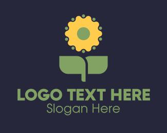 Garden - Flower Gardening logo design