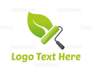 Painter - Eco Paint logo design