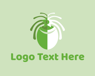 Plant - Plant Vase logo design