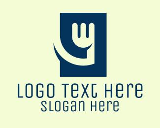 Restaurant - Blue Fork Restaurant  logo design