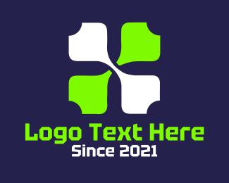 Green Petals Logo