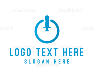 Injection - Power Injection logo design