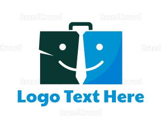 Briefcase - Job Briefcase logo design