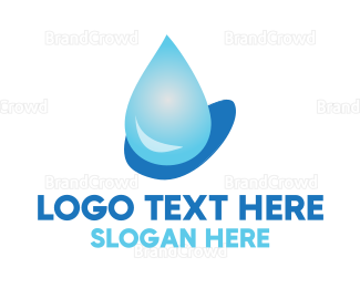 Dew - Water Drop logo design