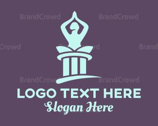 Meditation - Yoga Temple logo design