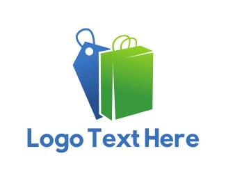 Sell - Bag & Tag logo design