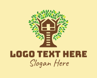 Day Care - Tree House logo design