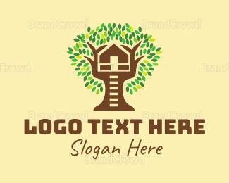 Interior Designer - Tree House  logo design