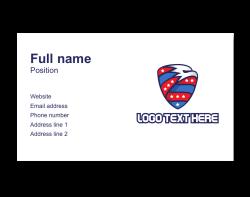 sport business card