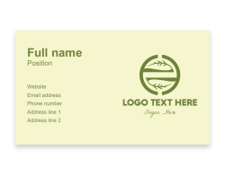 non-profit business card