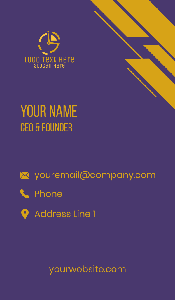 Real Time Business Card