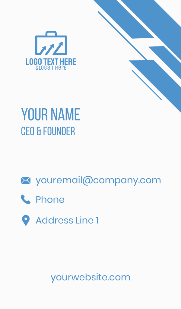 Suitcase Finance Business Card