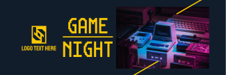 Game Night Twitter header (cover)