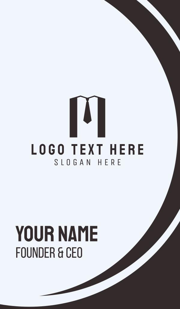 M Suit Business Card