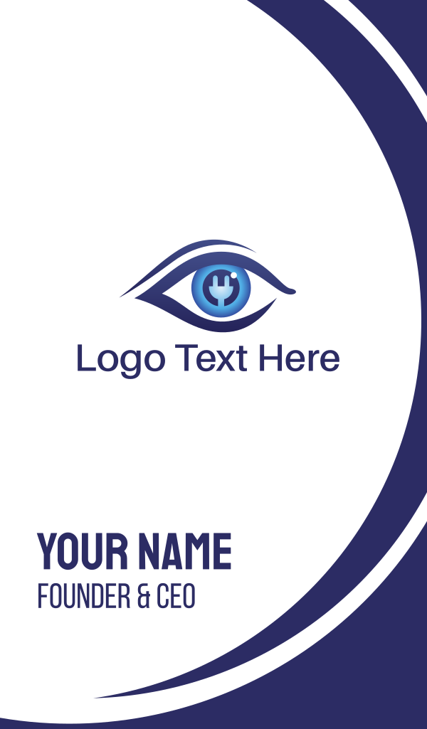 Eye Charger Business Card