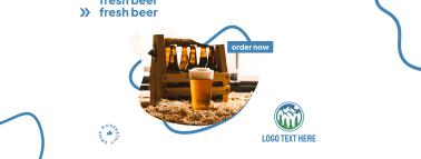 Fresh Beer Order Now Facebook cover