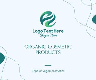 Organic Cosmetic Facebook post