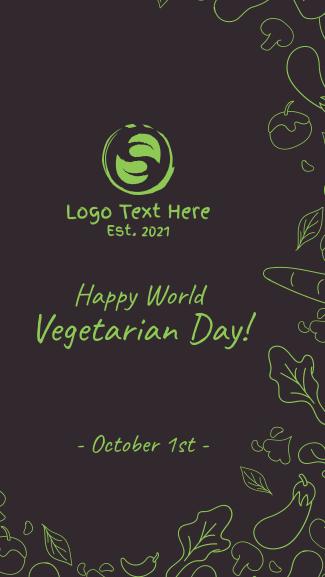 World Vegetarian Day Facebook story