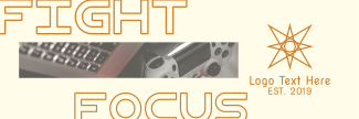 Fight Focus Twitter header (cover)